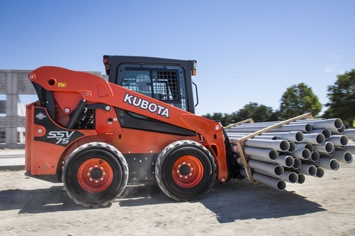 2017 Kubota Skid Steer Loader (SSV75) in Columbia, South Carolina