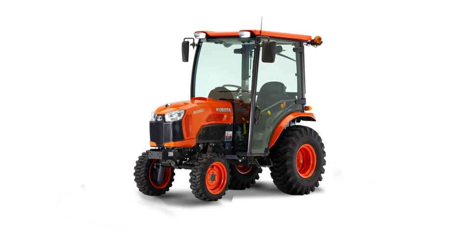 2017 Kubota Compact Tractor with Cab (B3350) in Fairfield, Illinois