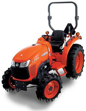 2017 Kubota Compact Tractor with GDT 2WD (L2501) in Bolivar, Tennessee