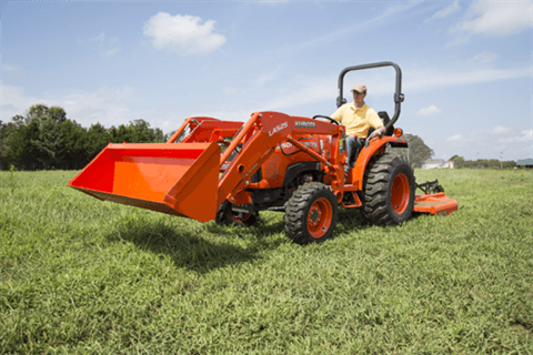 2017 Kubota Compact Tractor with GDT 4WD (L2501) in Bolivar, Tennessee