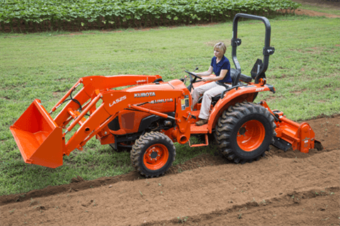 2017 Kubota Compact Tractor with HST 4WD (L2501) in Beaver Dam, Wisconsin