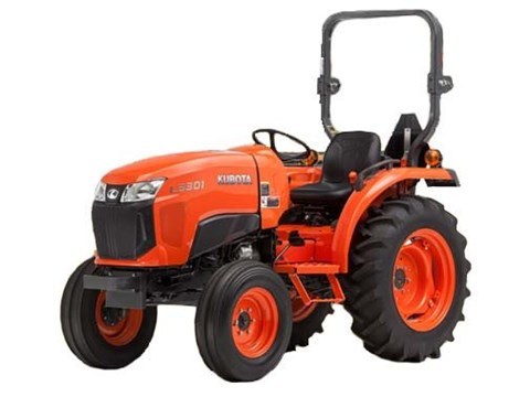 2017 Kubota Compact Tractor with HST 4WD (L3301) in Santa Fe, New Mexico