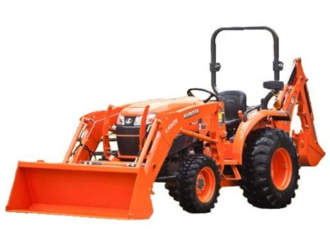2017 Kubota Compact Tractor with GDT 2WD (L3901) in Fairfield, Illinois