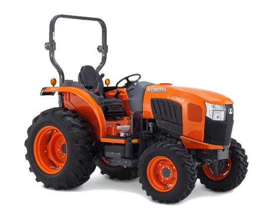 2017 Kubota Grand L60 GST Compact Tractor (L4060) in Fairfield, Illinois