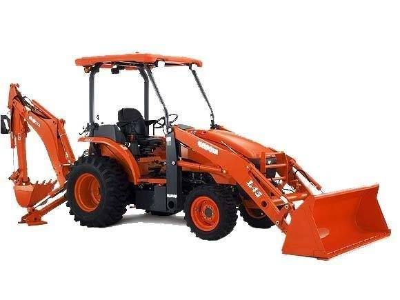 2017 Kubota Tractor/Loader/Backhoe (L47TLB Tractor) in Fairfield, Illinois