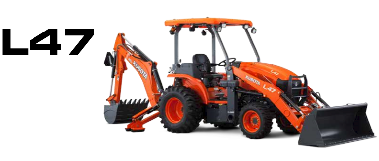 2017 Kubota L47 TLB Tractor in Beaver Dam, Wisconsin