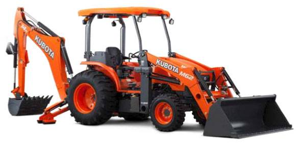 2017 Kubota M62 TLB Tractor in Bolivar, Tennessee