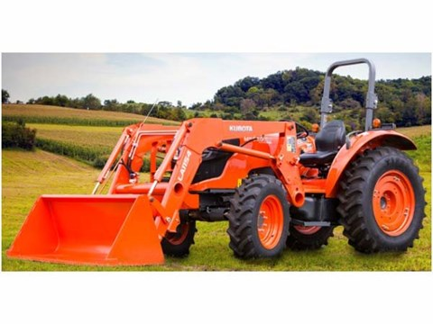 2017 Kubota Mid-Size Tractor 4WD (M5660SUHD) in Beaver Dam, Wisconsin