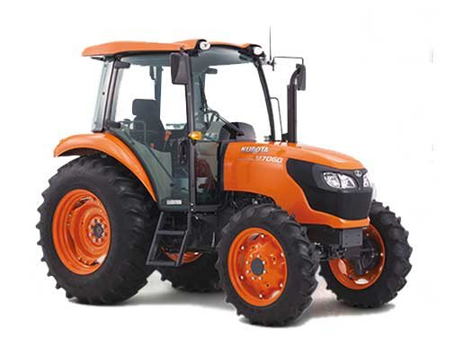 2017 Kubota Mid-Size 4WD Tractor with Cab (M7060 HDC12) in Santa Fe, New Mexico