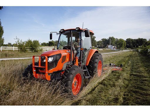 2017 Kubota Mid-Size 4WD Tractor with ROPS (M8560 HD12) in Beaver Dam, Wisconsin