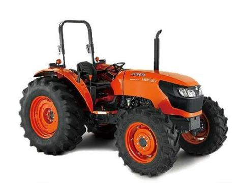 2017 Kubota Mid-Size 4WD Tractor with ROPS (M8560 HD) in Fairfield, Illinois