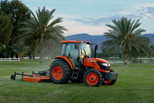 2017 Kubota Mid-Size 2WD Tractor with Cab (M7060 HFC) in Beaver Dam, Wisconsin