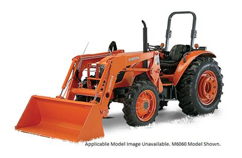 2017 Kubota Mid-Size 2WD Tractor with Cab (M8560 HFC) in Beaver Dam, Wisconsin