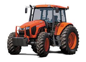 2017 Kubota Mid-Size 4WD AG Tractor (M6S-111SHDC) in Fairfield, Illinois