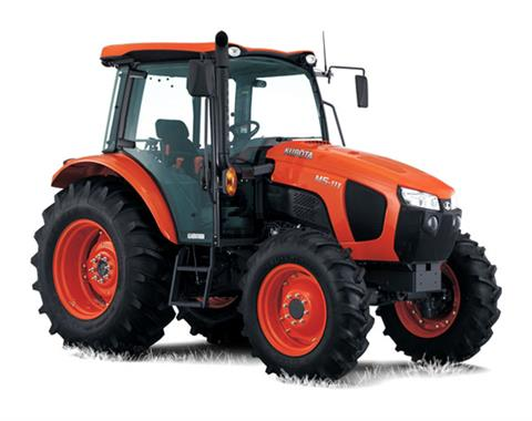 2017 Kubota Mid-Size 4WD Tractor with Cab (M5-111 HDC24) in Beaver Dam, Wisconsin