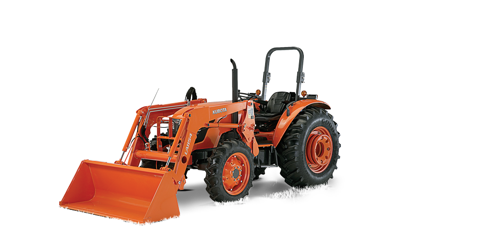 2017 Kubota Mid-Size 4WD Tractor with Cab (M6060 HDC) in Beaver Dam, Wisconsin