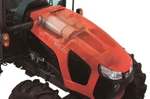 2017 Kubota Mid-Size Narrow AG Tractor (M5N-091HDC24) in Beaver Dam, Wisconsin