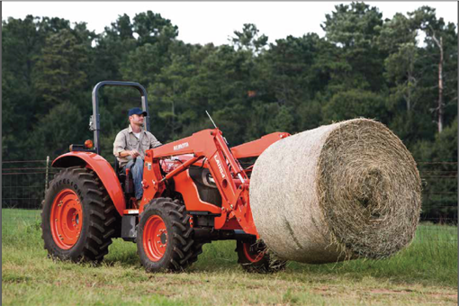 2017 Kubota Mid-Size Tractor 2WD (M5660SUH) in Beaver Dam, Wisconsin