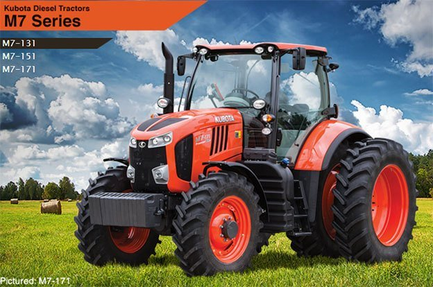 2017 Kubota Mid-Size Tractor (M7-131 Premium) in Bolivar, Tennessee