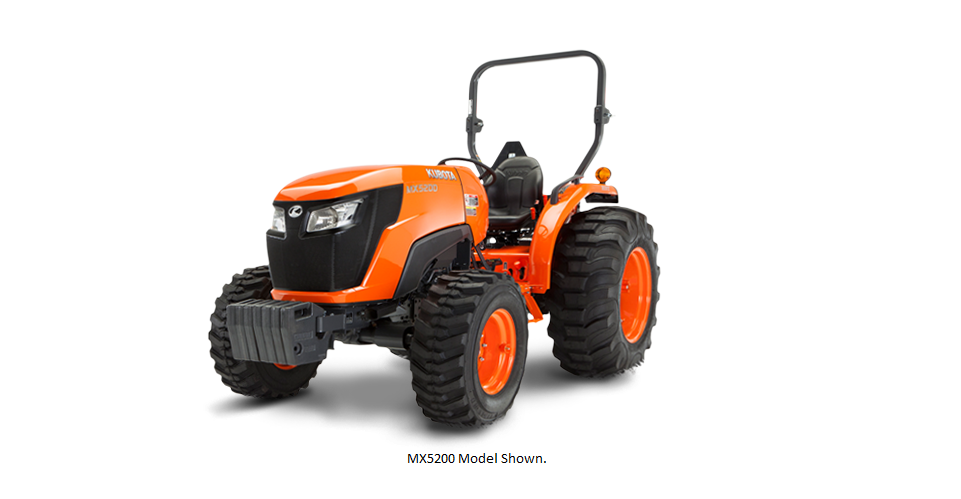 2017 Kubota Mid-Size Tractor with GDT 2WD (MX4800) in Fairfield, Illinois