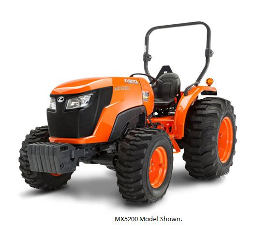 2017 Kubota Mid-Size Tractor with HST 4WD (MX4800) in Bolivar, Tennessee