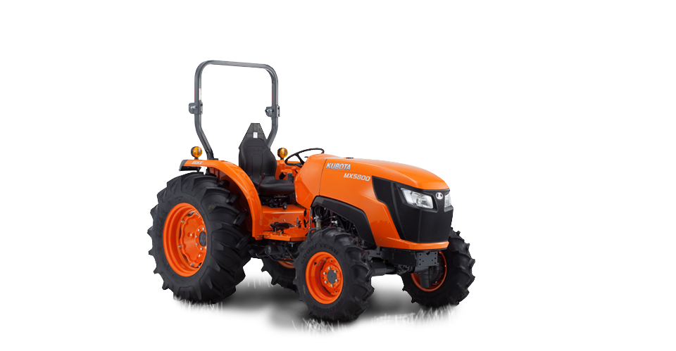 Kubota Grill Parts : New kubota mid size tractor with hst wd mx