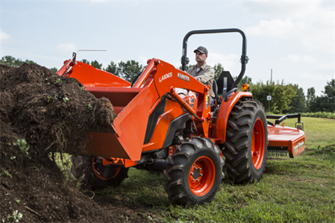 2017 Kubota Mid-Size Tractor with HST 4WD (MX5800) in Beaver Dam, Wisconsin