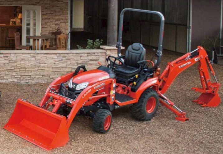 Kubota Tractor Backhoe Buckets : New kubota bx s swift connect backhoe bt