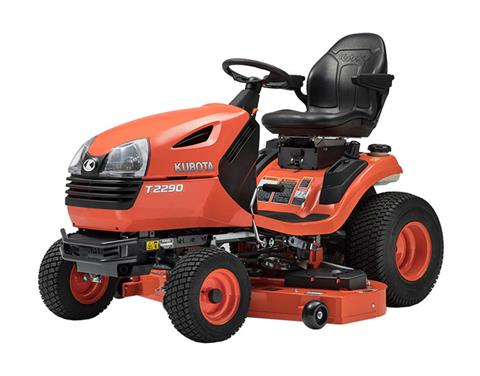 2018 Kubota Lawn Tractor (T2290KWT-48) in Fairfield, Illinois