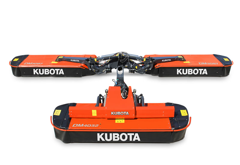2018 Kubota Butterfly Disc Mower (DM3087) in Beaver Dam, Wisconsin