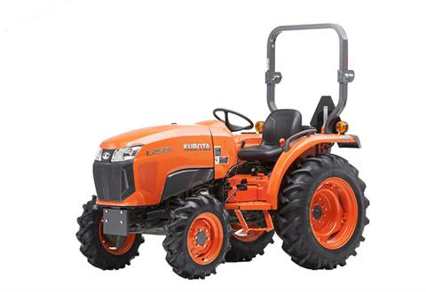 2018 Kubota Compact Tractor with GDT 4WD L2501 in Fairfield, Illinois