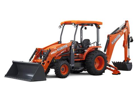 2018 Kubota M62TLB 4WD Tractor Loader Backhoe in Fairfield, Illinois