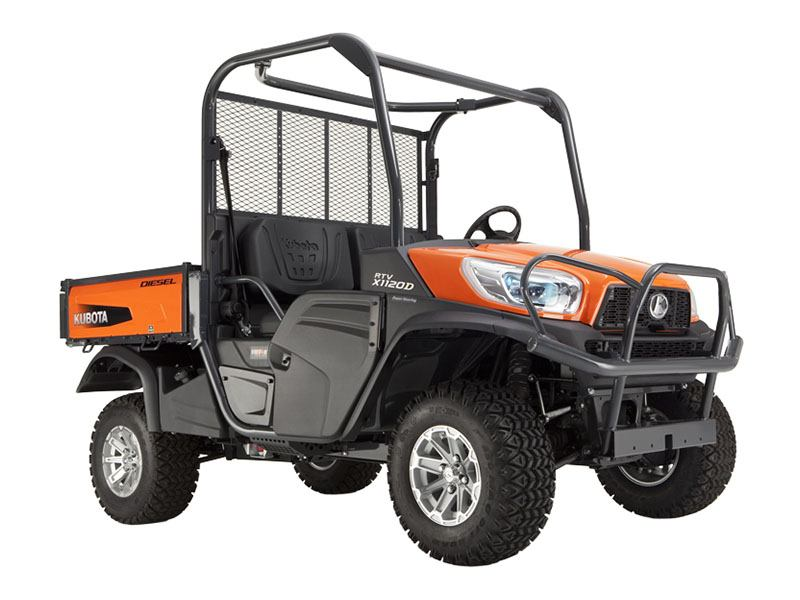 2018 Kubota RTV-X1120D in Fairfield, Illinois
