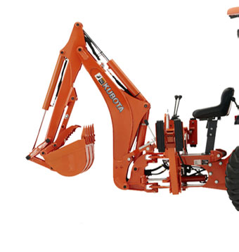 2019 Kubota Backhoe BH77 in Beaver Dam, Wisconsin