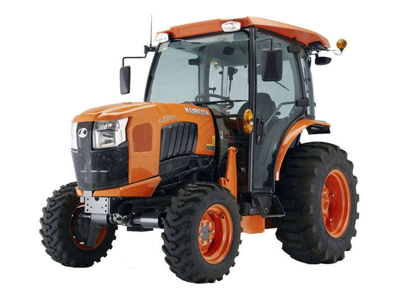 2019 Kubota L6060 Grand L60 HST Compact Tractor in Beaver Dam, Wisconsin