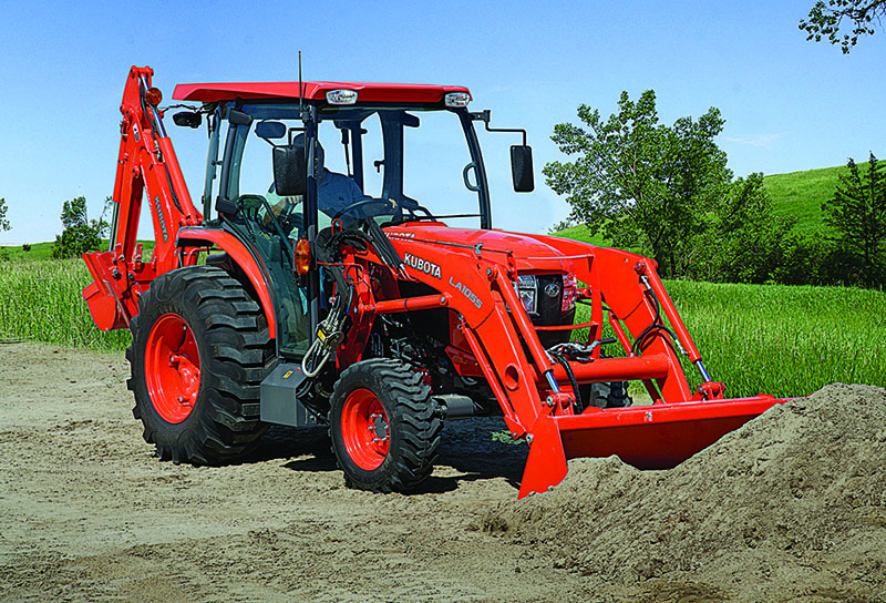 2021 Kubota L4060 HST 4WD with CAB in Beaver Dam, Wisconsin - Photo 9
