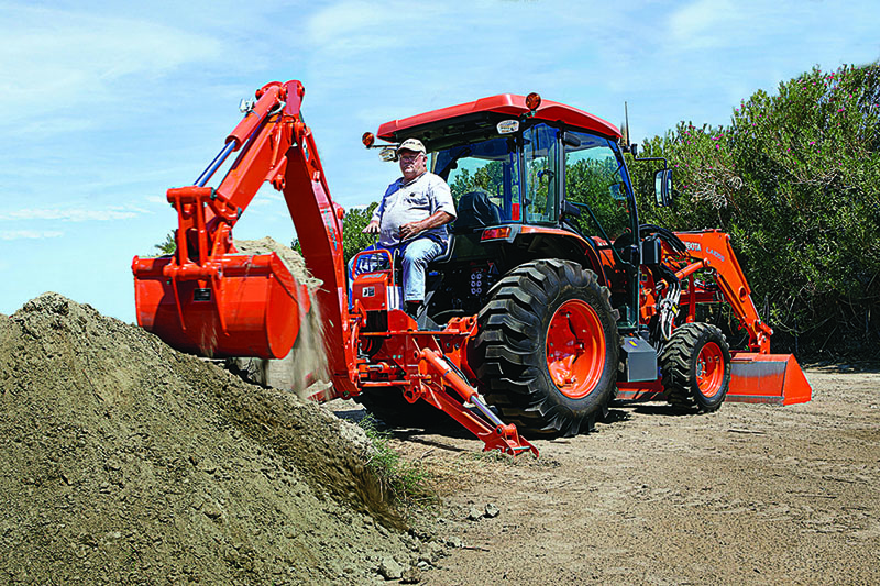 2021 Kubota L6060 HST 4WD with CAB in Beaver Dam, Wisconsin - Photo 8