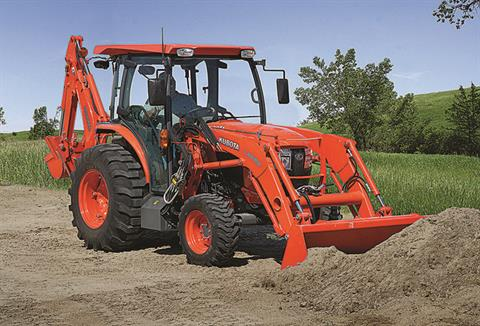 2021 Kubota L6060 HST 4WD with CAB in Beaver Dam, Wisconsin - Photo 9