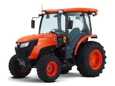 2021 Kubota MX6000 HST 4WD with CAB in Beaver Dam, Wisconsin