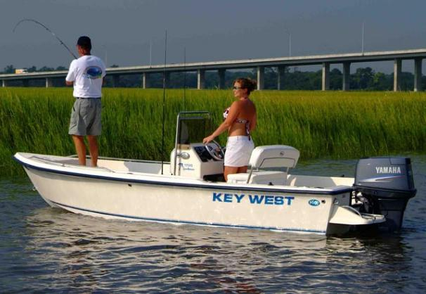 2018 Key West 1720 Center Console in Niceville, Florida