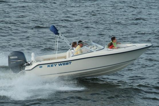New 2019 Key West 186 Dual Console Power Boats Outboard in