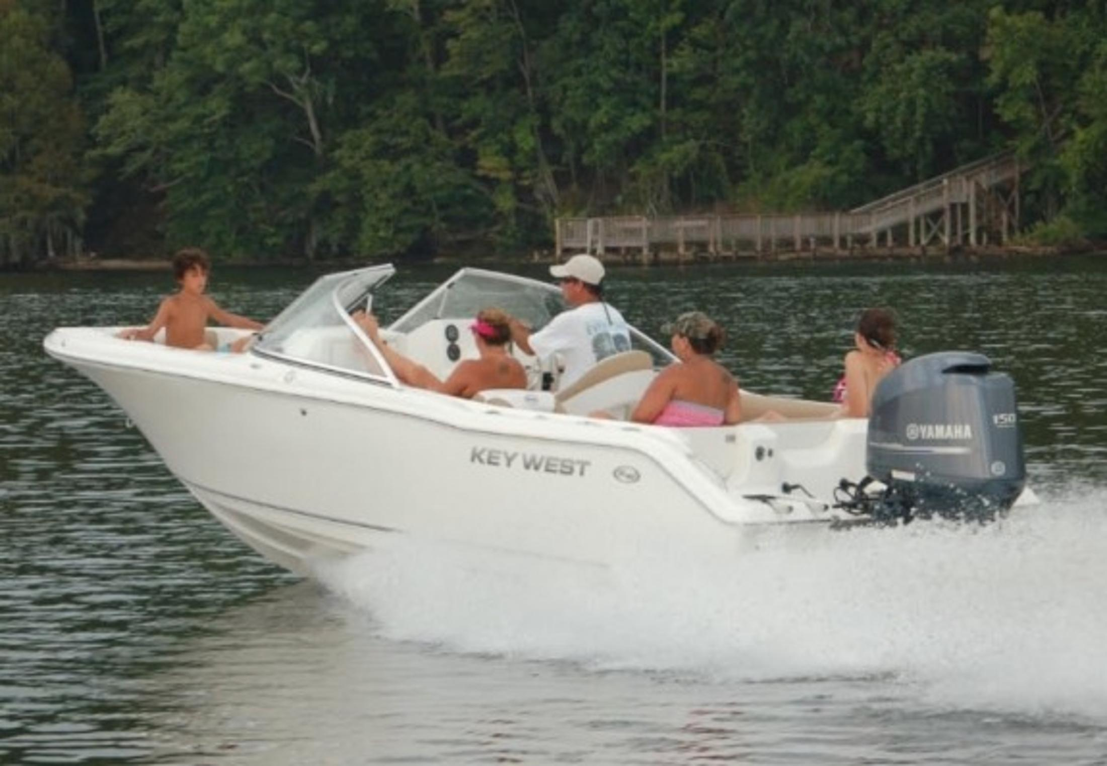 New 2019 Key West 203 Dfs Power Boats Outboard In Perry Fl Stock