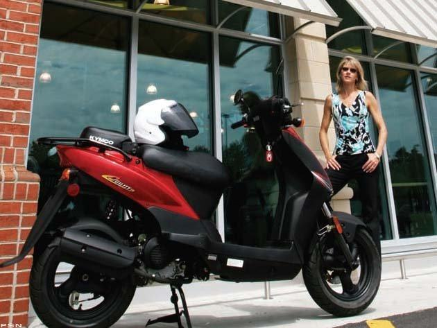 2012 Kymco Agility 50 in Hancock, Michigan - Photo 8