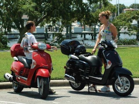 2012 Kymco Like 200i in Fort Lauderdale, Florida - Photo 8