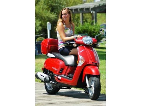 2014 Kymco Like 200i in Fort Myers, Florida
