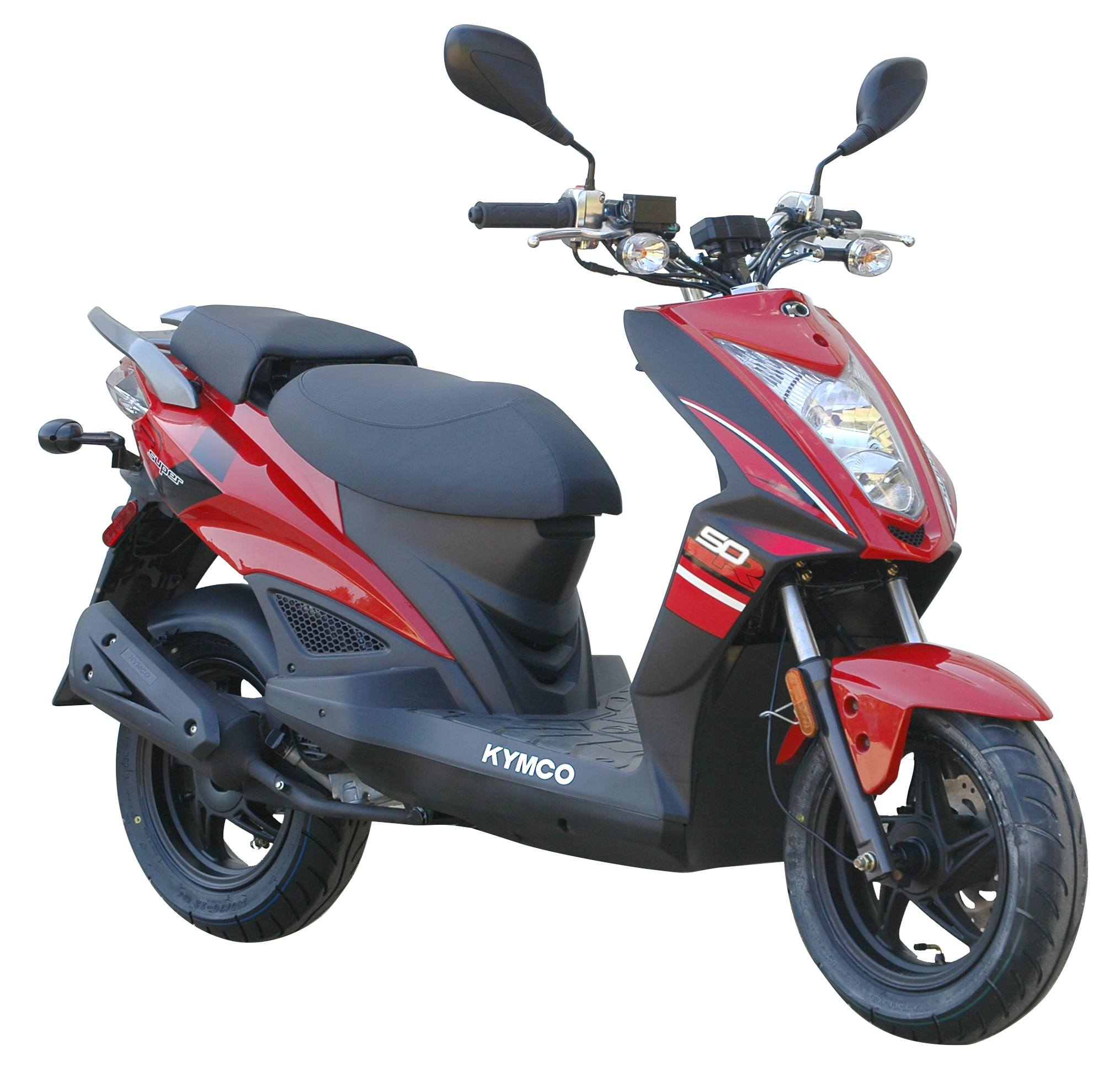 2016 Kymco Super 8 50R in Edwardsville, Illinois