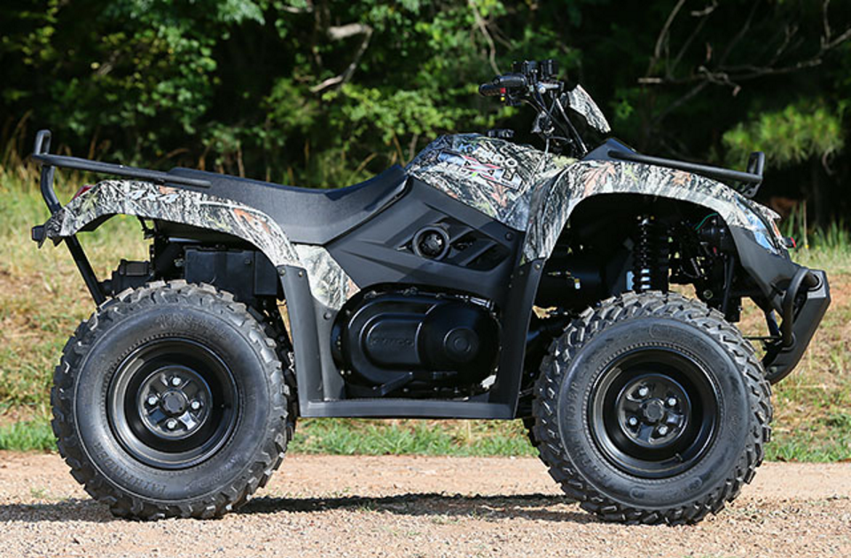 2017 Kymco MXU 450i Camo in West Bridgewater, Massachusetts