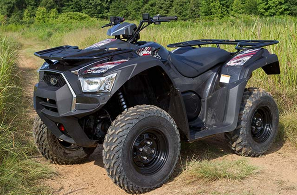 2017 Kymco MXU 500i in Black River Falls, Wisconsin