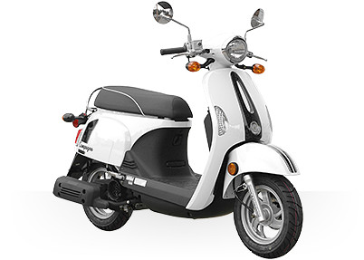 2017 Kymco Compagno 110i in Sterling, Illinois