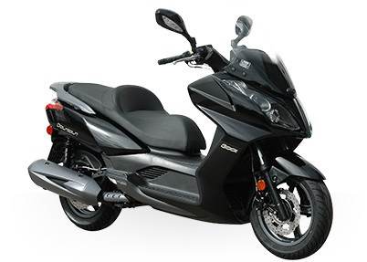 2017 Kymco Downtown 300i in Adams, Massachusetts